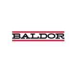 Baldor brand logo now owned by ABB