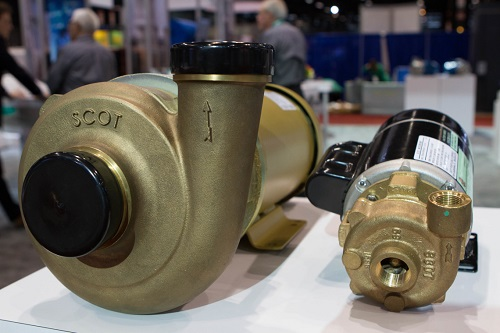 Scot Pump bronze motorpumps